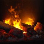 Effet flamme cheminée