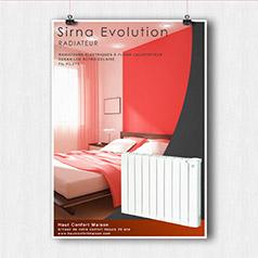 Radiateur Sirna Evolution