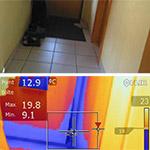 Exemple thermographie entrée