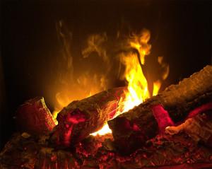 Effet de flamme