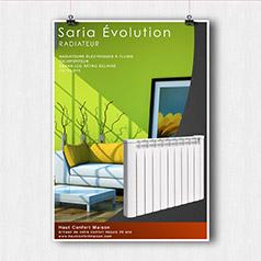 Radiateur Saria Evolution